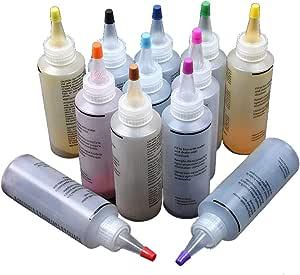 Kit de estampado Tie Dye de 12 colores para tejido, no tóxico, permanente - suministros divertidos para fiestas, amigos, familia, niños