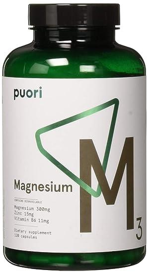 PurePharma Minerales Esenciales M3 Magnesio- 120 caps: Amazon.es: Salud y cuidado personal