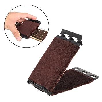 Crazo Foxpic Cuerda de Guitarra y Diapasón Limpiador para Guitarra Eléctricas y Acústica: Amazon.es: Electrónica