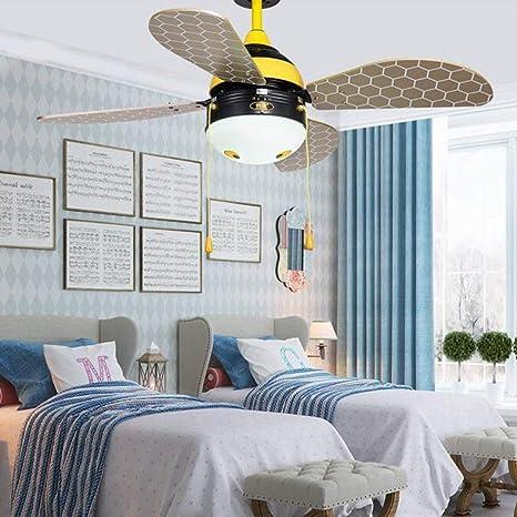 WHKZH un Hotel Moderno y Minimalista como un Ventilador sin Techo Vogue sin Ventilador Antiguo Ventilador de Techo Hotel, Pared/Control Remoto,Control de Pared: Amazon.es: Deportes y aire libre