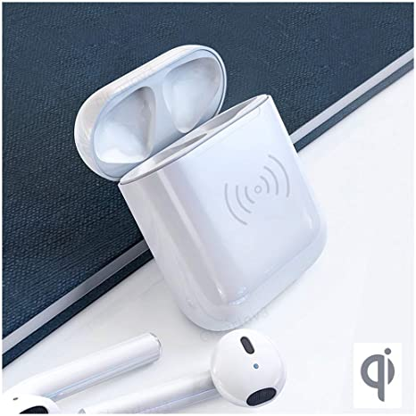 big sale 7d213 b850c UPSTONE for Airpods Replacement Charger Case Fast Wireless Charging Case  Accessories Protector Compatible with Airpods Wireless Earbuds,450mAh Built  ...