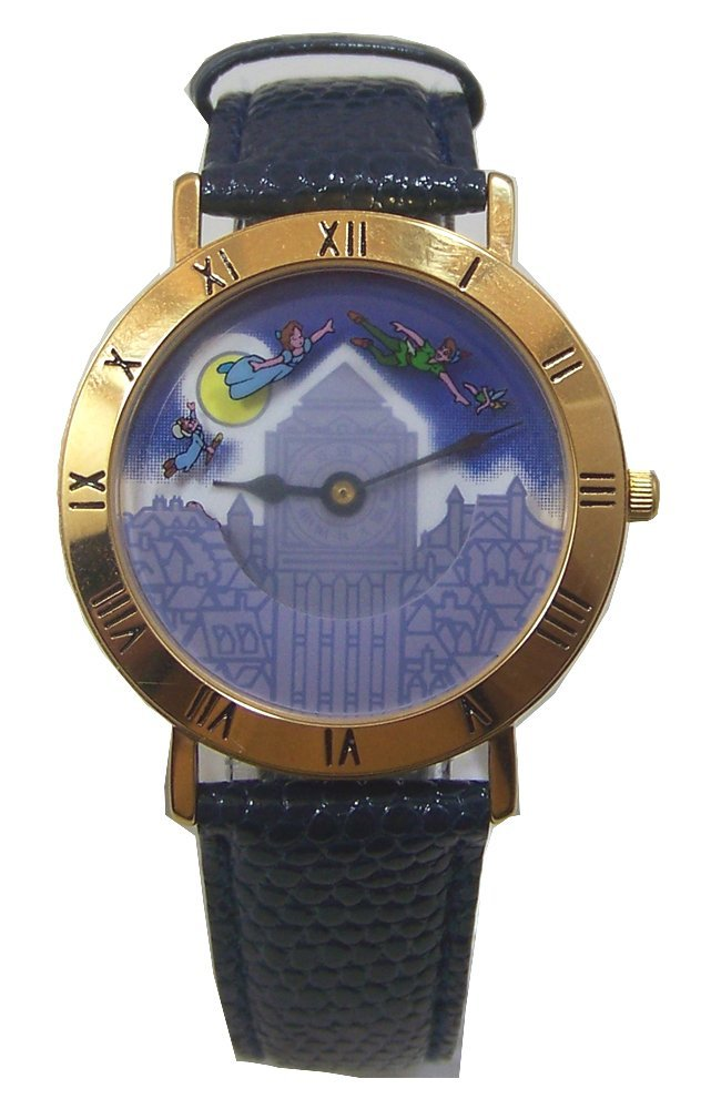 Peter Pan Pedre Watch Walt Disney Rotating Characters Wristwatch