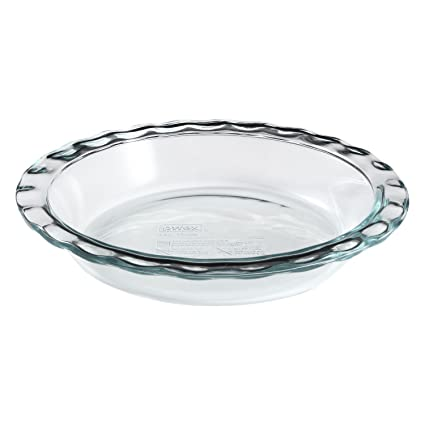 Pyrex Easy Grab 9.5\u0026quot; Glass Pie Plate  sc 1 st  Amazon.com & Amazon.com: Pyrex Easy Grab 9.5\