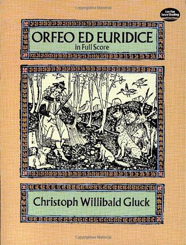 Orfeo ed Euridice in Full Score (Dover Music Scores)