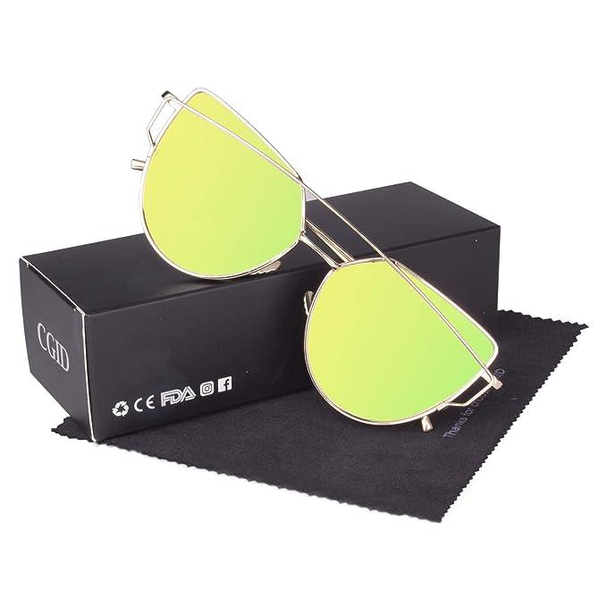 393f30fc4f CGID Espejo de moda Polarizadas ojo de gato Gafas de sol para mujer UV400  MJ74: Amazon.es: Ropa y accesorios