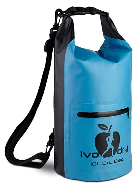 9f2b586d8b54 Dry Bag - Waterproof Bag - Outdoors Sack Keeps your Gear Safe and Dry for  Hiking