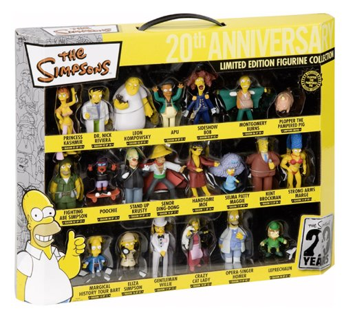 The Simpsons Figure set Limited Edition