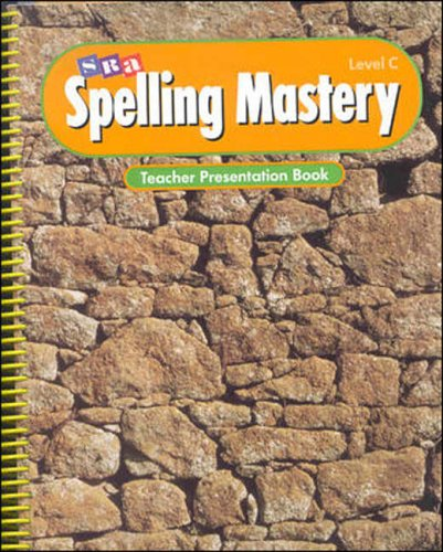 Spelling Mastery - Teacher Presentation Book - Level C by Brand: McGraw-Hill Inc.,US