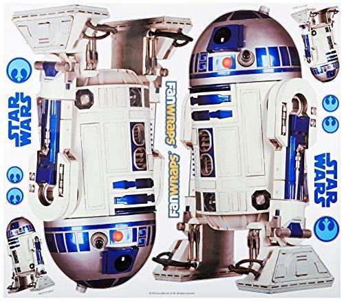 FanWraps Star Wars R2-D2 Vehicle Graphics Kit, Large
