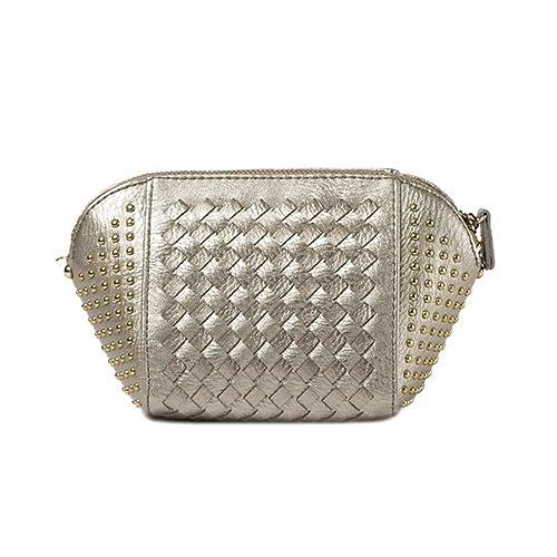 a1e7b71173 Anne - Borsa a tracolla Donna , argento (Silver Grey), Taglia unica ...