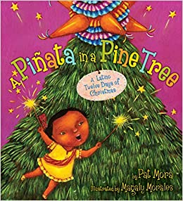 A Piñata In A Pine Tree A Latino Twelve Days Of Christmas Pat  - Christmas Tree Pinata