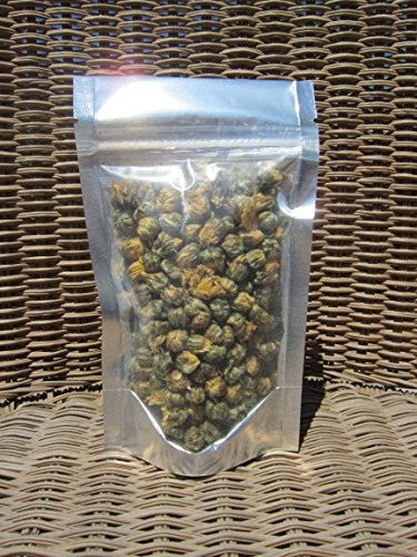 Chrysanthemum Buds Herbal Tea - Rich in antioxidants, Beautiful and Aromatic - Loose Leaf (08 oz)