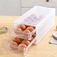 Betose 12 Count 40 Pack Plastic Egg Cartons for Chicken Eggs Egg Holder Disposable Clear Egg Holder Stackable Egg Storage Container Egg Tray Holder for Chicken Farm Home Refrigerator Storage