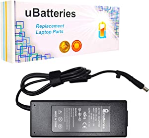 UBatteries Compatible 19.5V 120W AC Adapter Charger Replacement for HP 645156-001 693709-001 677762-001 HSTNN-LA25 PA-1121-62HJ HSTNN-CA27 801637-001 730982-002 740243-001 Series
