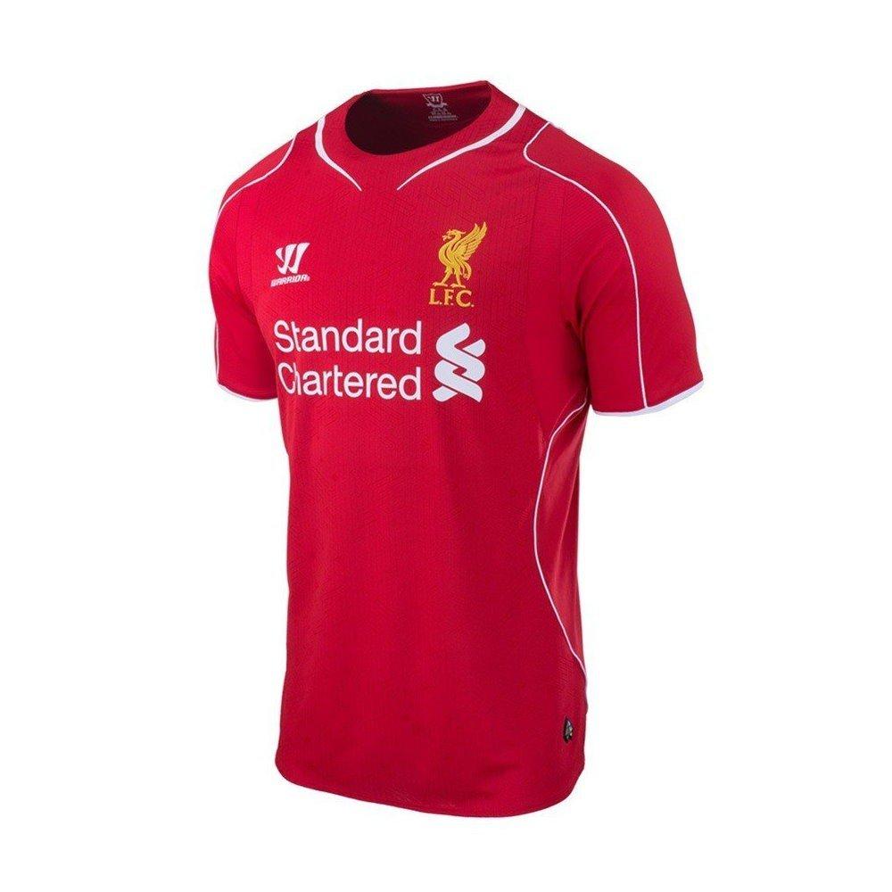 Liverpool fc heim trikot kinder warrior rot