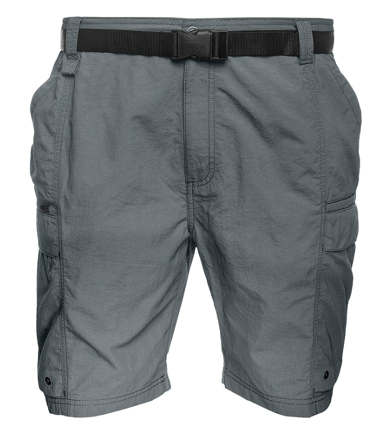 83ec974a68 Coleman Men's Outdoor Hiking Nylon Cargo Shorts (X-Large, Ironstone) |  Amazon.com