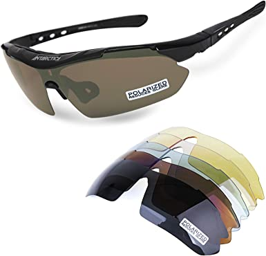 New fashion Polarized Glasses Sunglasses Cycling Sport Glasses 5 color lenses