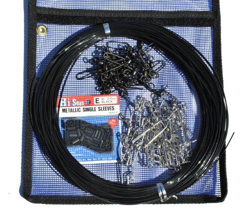 Mono Line Kit - Decoy Rigging Kit - 1.8mm Line,crimps, clips, snaps in bag