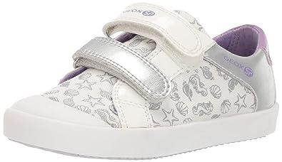 wähle spätestens suche nach dem besten Release-Info zu Geox Gisli Girl 19 SP Velcro Sneaker, White/light violet 23 ...