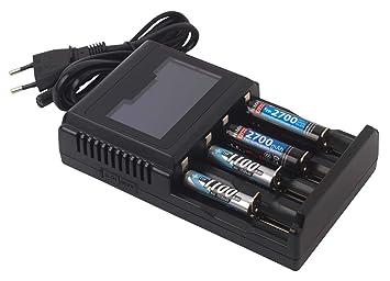 Profitec V 4 L - Cargador Universal para baterías de Ion de ...