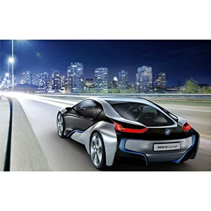 Amazon Com Bmw I8 Concept Poster By Silk Printing Size About