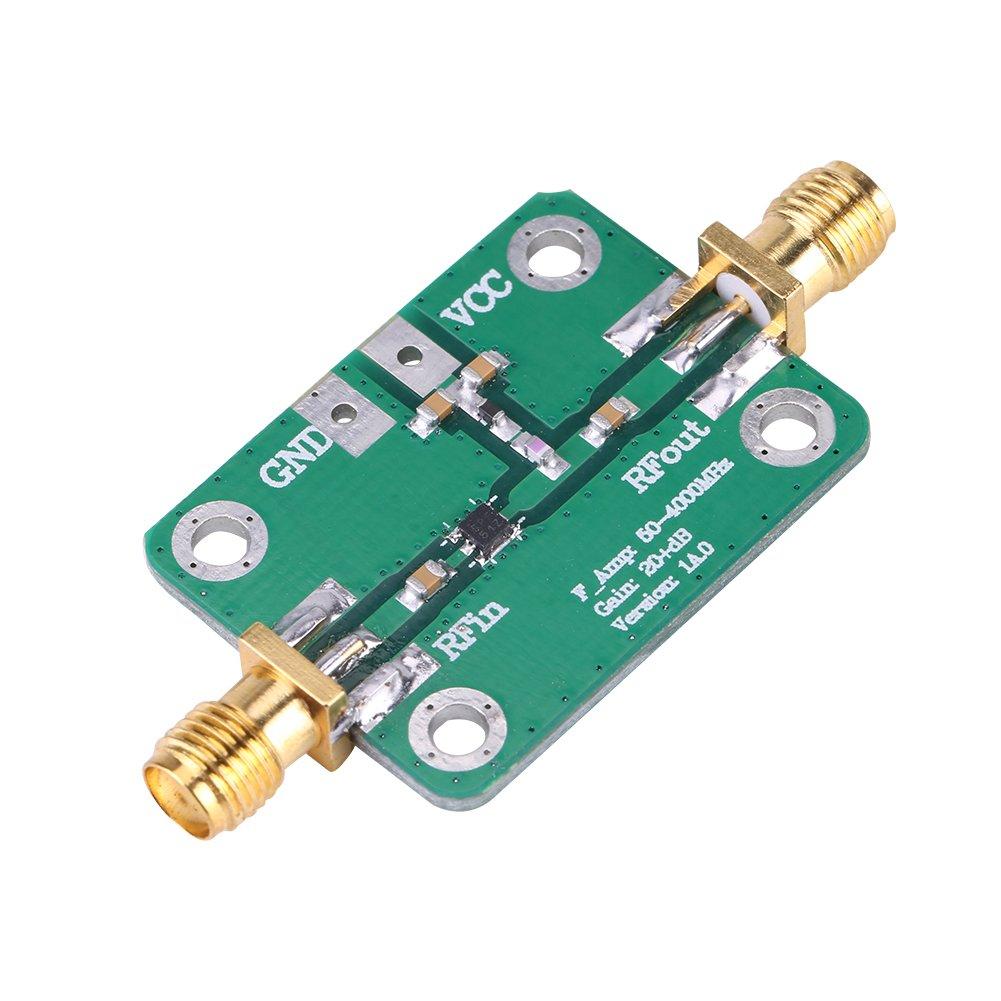 Amplificador de RF Mó dulo de Amplificador de Ultrabajo Ruido 144MHz Ganancia de LNA 24dB Mó dulo Ham Radio 135--175MHz Walfront