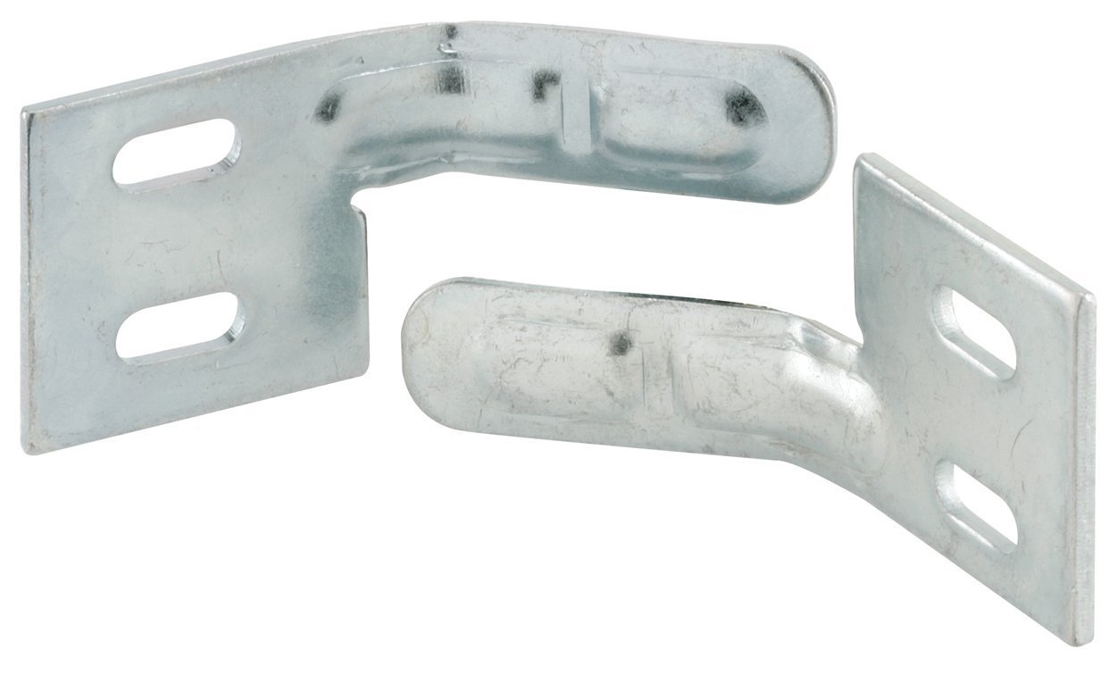 New Life products 9-1138 Bi-Fold Door Surface Aligner Steel, Pack of 2