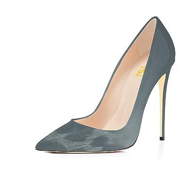 a149f6de5180d FSJ Women Fashion High Heel Stilettos Leopard Pointed Toe Pumps Evening  Party Shoes Size 4-15 US