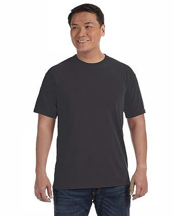 539d0c9c Comfort Colors Mens Ringspun Garment-Dyed T-Shirt in SM in cm-GRAPHITE