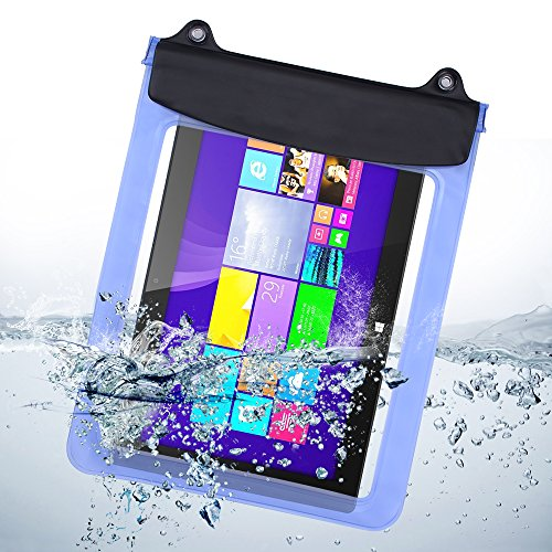 - eBuymore 9.7'' 10.1'' 10.5'' 10.8'' Tablets iPad Waterproof Pouch Bag Case for iPad Air 2 / Samsung Galaxy Tab S 10.5'' / Tab Pro 10.1''/ Microsoft Surface RT 10.6