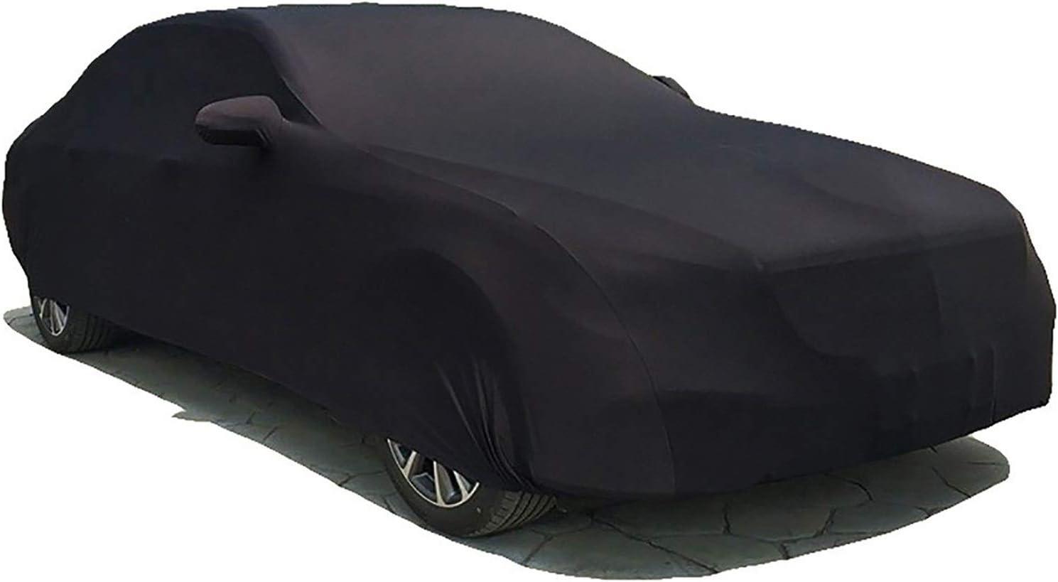 HEQCG Funda de coche compatible con cubierta de coche Acura Car,Sedán/Convertible/SUV/Supercar, cubierta de terciopelo de tela elástica, 4 colores (color: negro, tamaño: MDX)