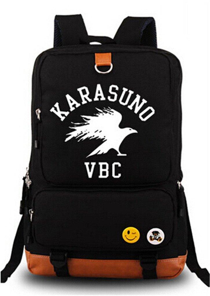 Siawasey Anime Haikyuu!! Cosplay Luminous Backpack Shoulder Bag School Bag
