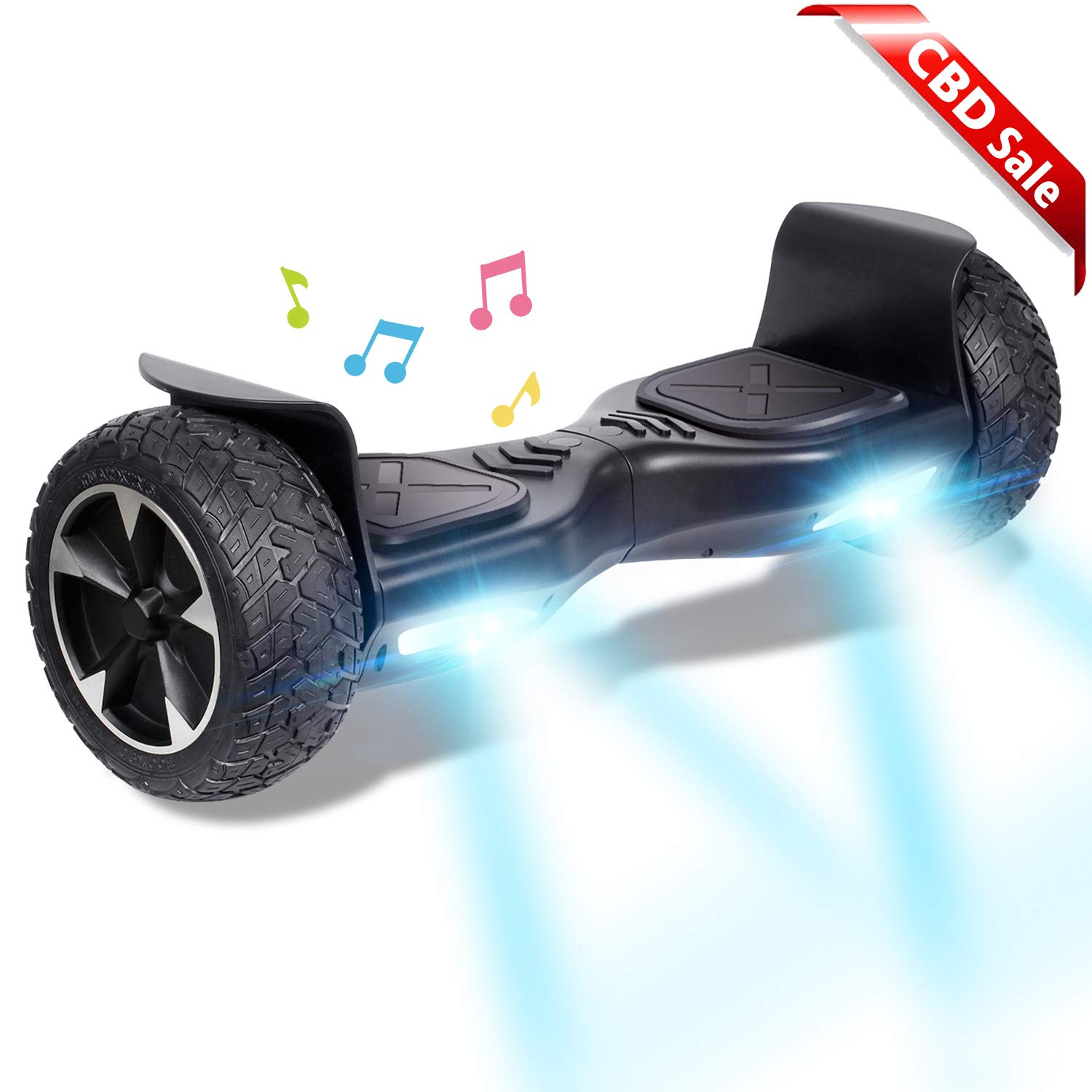 CBD Off Road Hover Board, Bluetooth Hoverboard for Kids
