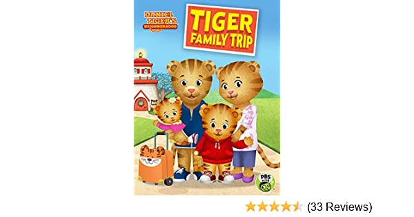 Vudu daniel tiger neighborhood tiger family trip