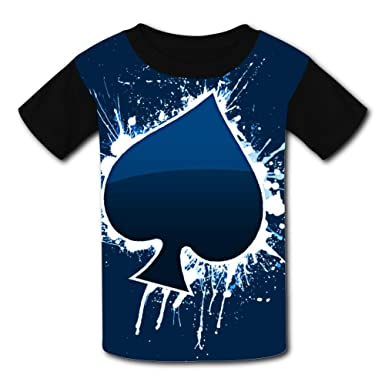 save up to 60% strong packing select for official Amazon.com: Custom Poker Graffiti Boys Girls Tee Shirt ...
