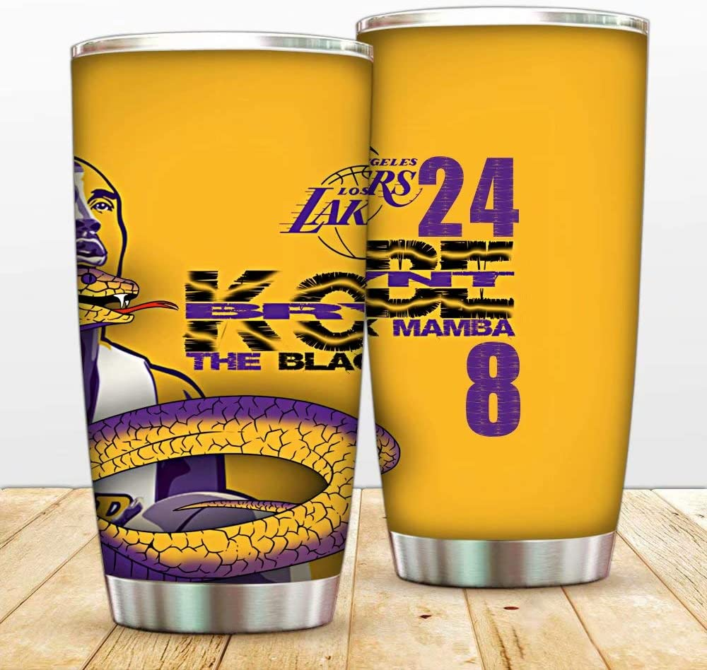 Clear Tervis 1276712 Nba Los Angeles Lakers All Over Tumbler With Wrap And Purple Lid 24oz Water Bottle Tumblers Water Glasses