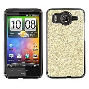 For HTC Desire HD / G10 / inspire 4GCase , Glitter Bling Money Rich Sparkly - Diseño Patrón Teléfono Caso Cubierta Case Bumper Duro Protección Case Cover Funda