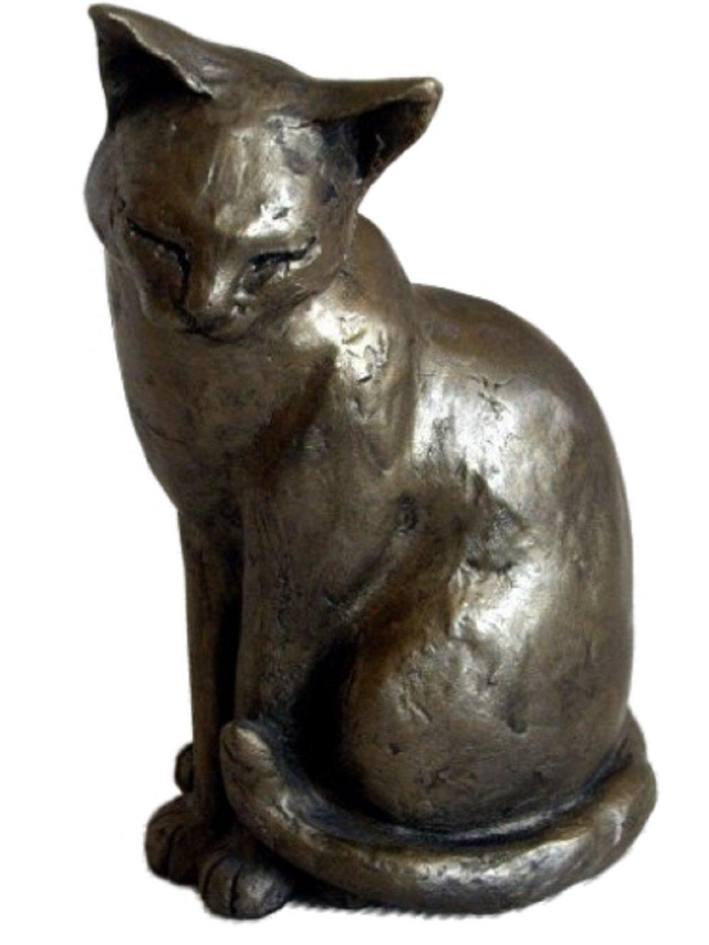 Maisie Gato Escultura De Bronce 18cm Paul Jenkins Frith