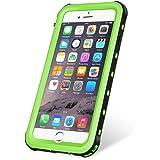KYOKA iPhone8 ケース iPhone7ケース 防水ケース 指紋認証対応 防水 防塵 耐震 耐衝撃 IP68 アイフォン8/7ケース 防水カバー (iPhone8/7, グリーン)