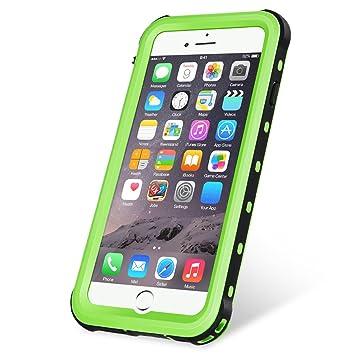 15e9de7672 KYOKA iPhone8 Plus ケース iPhone7 Plus ケース 防水ケース 指紋認証対応 防水 防塵 耐震 耐