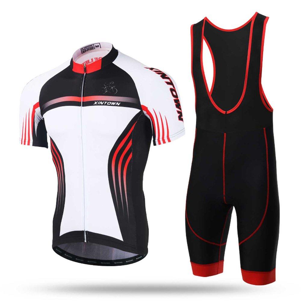 Pinjeer Morden Style Sommer Outdoors Kleider für Männer Reiten Wandern   Camping Sport, Herren Radsportbekleidung Jersey Shorts Prime für Rennrad