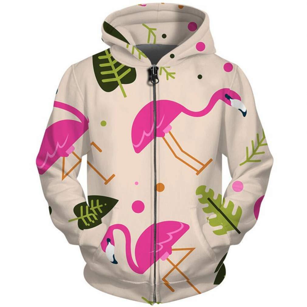 Snake beauty Männliche 3D-Zip Up Hoodie Damen Herren Unisex Sweatshirt Langarm Harajuku Streetwear Zipper Hooded Fallen Trainingsanzug