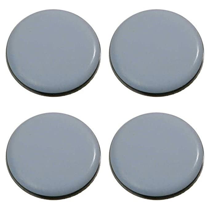 Pack of 4/Teflon Furniture Gliders//Self-Adhesive//PTFE Coating//Teflon Furniture Gliders//Diameter 80//5/mm Thick//Chair Glides