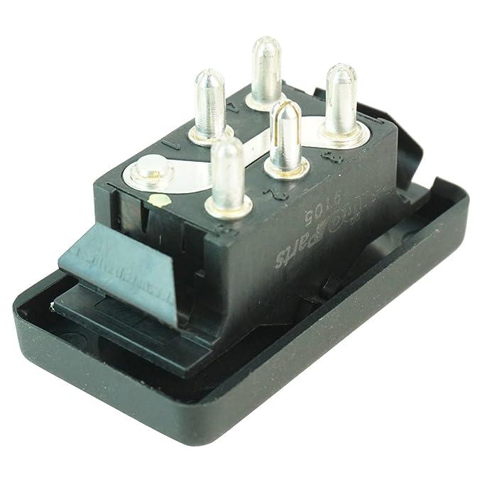 Power Window Switch LH Left or RH Right for Porsche 944 968 NEW
