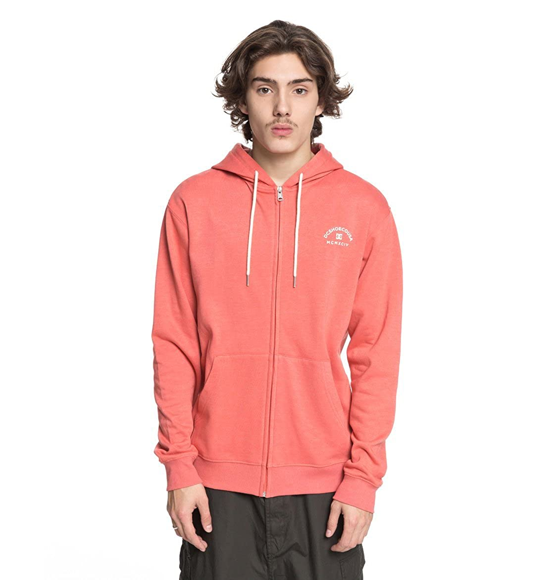 60687e5e6 DC Shoes Rebel - Zip-Up Hoodie for Men EDYFT03369: DC Shoes: Amazon ...