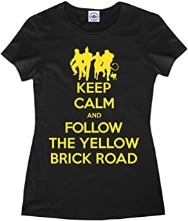 product image for Hank Player U.S.A. Keep Calm & Follow The Yellow Brick Road Women's T-Shirt