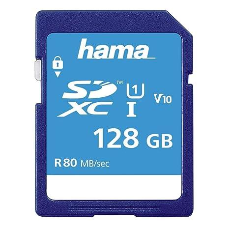 Hama SDXC 128GB Memoria Flash Clase 10 UHS-I - Tarjeta de ...