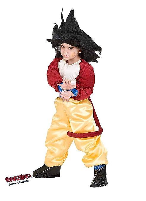 86651ec89916 Costume di Carnevale da Dragon GT Baby Vestito per Bambino Ragazzo 1-6 Anni  Travestimento