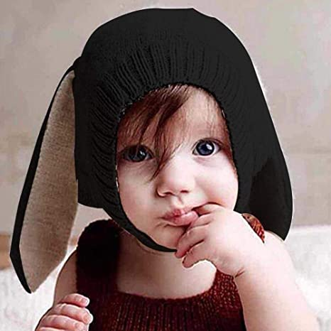 829cd8f7106ae Ins Sombrero para niños Innovador forma de animal Sombrero de lana Suave y  cálido Orejas de