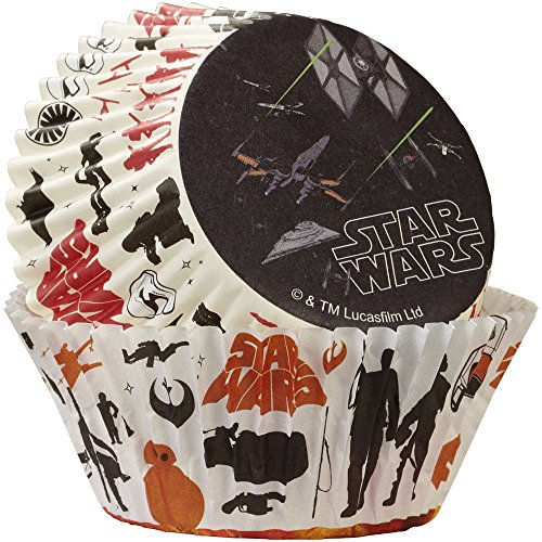 Price comparison product image Wilton 415-5080 Star Wars Standard Baking Cups (50 Pack), Multicolor